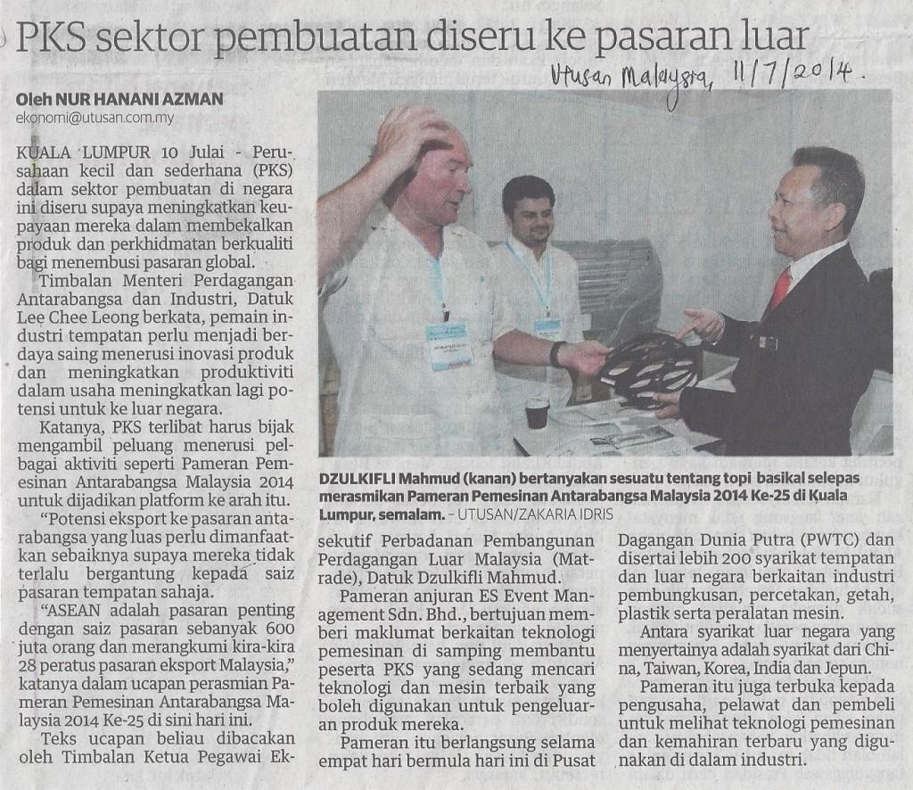 sektor pembuatan PKS