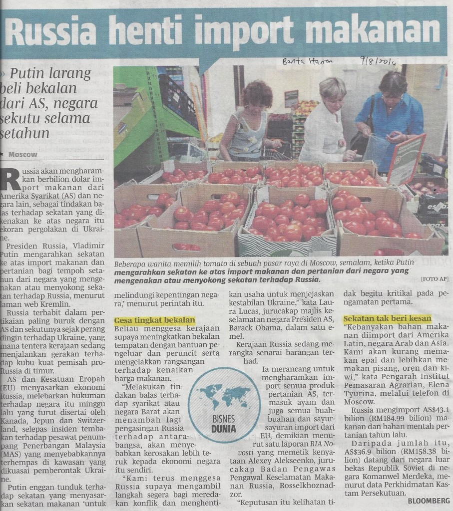 Russia boikot