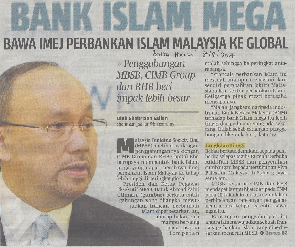 bank islam mega