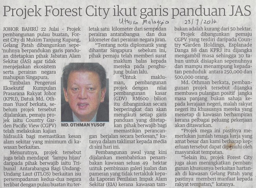 projek forest city