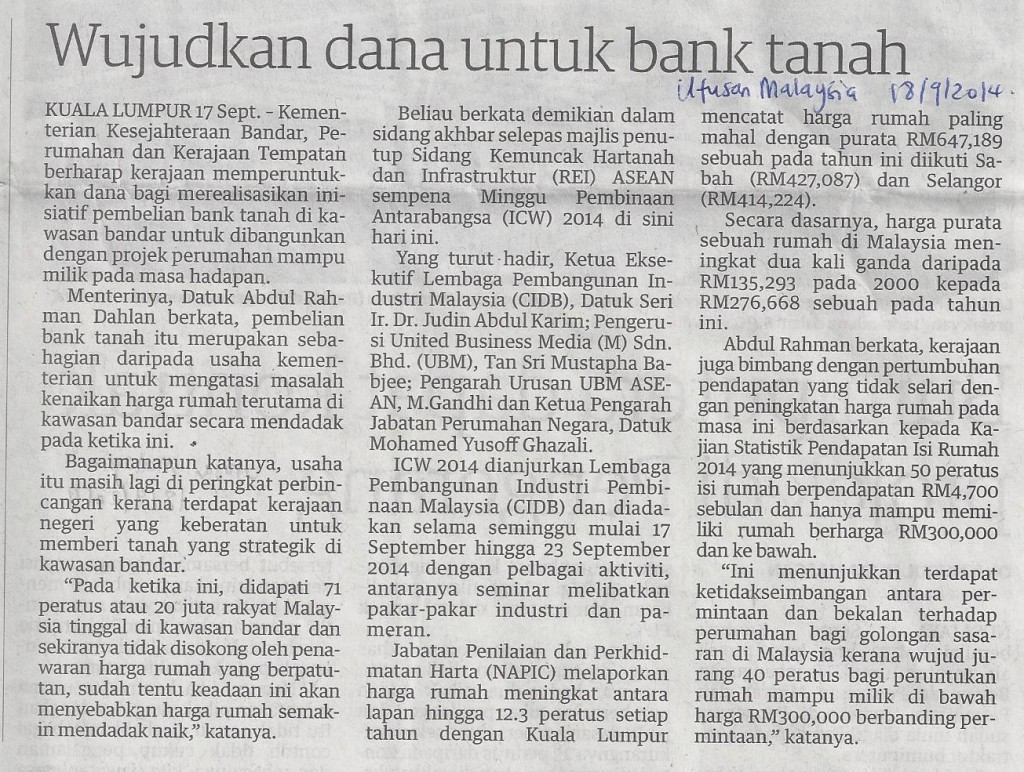 bank tanah