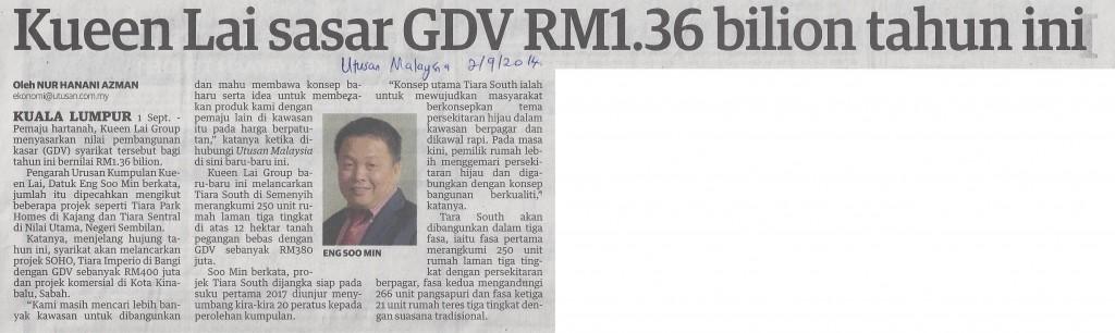 gdv rm1.36bilion