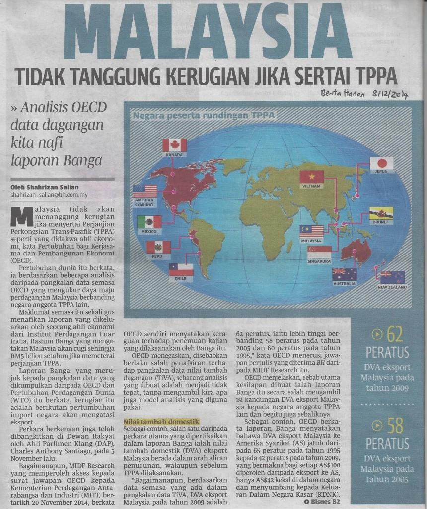 Malaysia tak tanggung rugi tppa