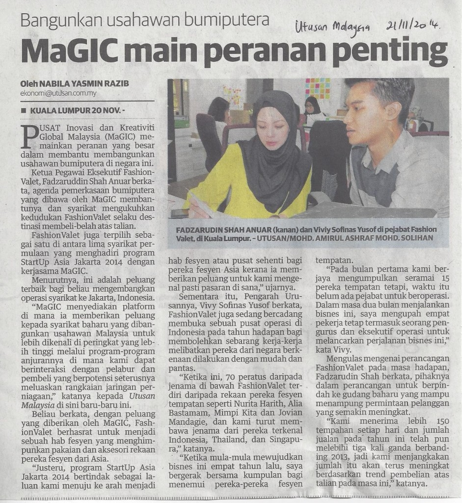 magic mainkan peranan penting
