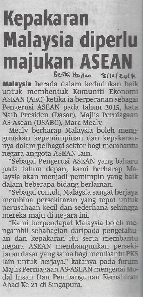 malaysia majukan asea